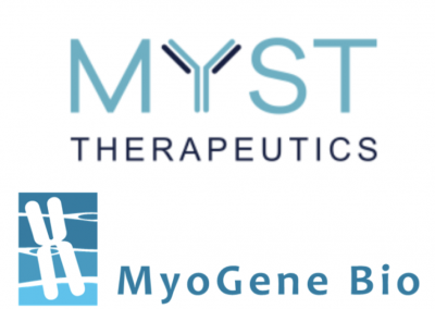 August 6, 2019 | Magnify welcomes MyoGene Bio and Myst Therapeutics
